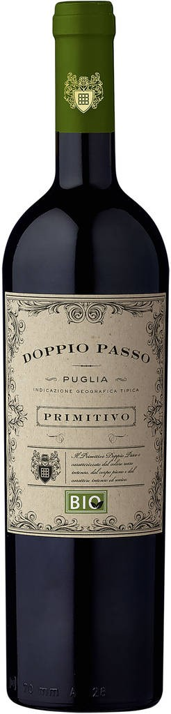 Doppio Passo Primitivo IGT Puglia Botter Casa Vinicola Apulien
