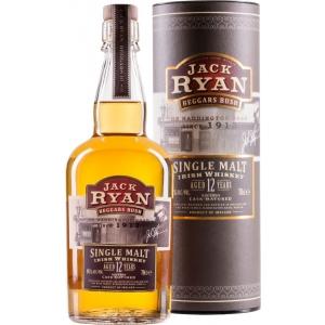 Jack Ryan Beggars Bush Irish Single Malt Whiskey Aged 12 Years Jack Ryan