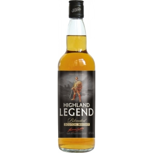 Highland Legend Blended Scotch Whisky - 40% Vol. Angus Dundee