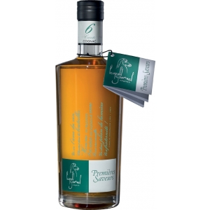 Cognac Premières Saveurs, 40% vol. AC,  mind. 6 Jahre Fassreife, Neue Ausstattung Cognac Léopold Gourmel
