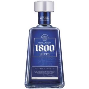 1800 Silver 38% vol  100% Agave Tequila Jose Cuervo 1800