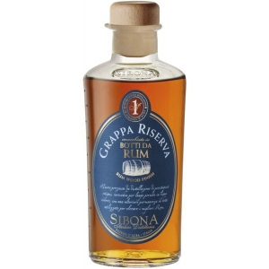 Sibona Grappa Riserva Botti da Rum 40% vol. in GP Distillerria Sibona
