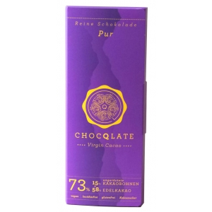 Virgin Cacao Schokolade – Pur Chocqlate